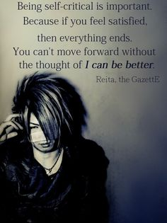 Reita Quote(The GazettE)