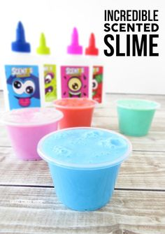 How to make incredible scented slime