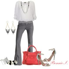 work outfit created by bonnaroosky on Polyvore