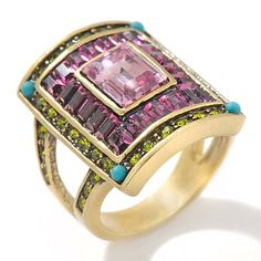Heidi Daus Breathtaking Baguettes Crystal-Accented Ring