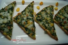 Creamy Spinach Toast Recipe (palak) is widely regarded as a super-food. It contains a high amount of iron, which is a boon for anaemic patients. http://goo.gl/eSPuHd