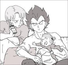 DBZ - Grown up under Ruins Dbz, Vegeta And Bulma, Samurai Flamenco, Afro Samurai, Dragon Ball Z, Vegeta And Trunks, Otaku, Couple Drawings, Son Goku