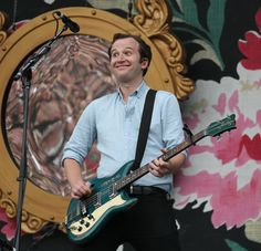 Chris Baioat Lollapalooza in Chicago (Photo by Dietrich Ziegler for WGNTV) (via teamvampireweekend, Tumblr)