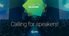 #mobiledev Share your #unitytips and tricks at #UniteMelb! We're looking for speakers! Submit here:  http://pic.twitter.com/4a909QGDkn   Game Developer (@GameDevPr0) August 24 2016