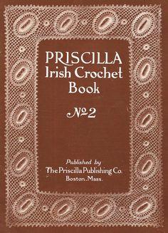 1912+Priscilla+Irish+Crochet+Pattern+Book+2nd+door+schmetterlingtag,+$14.99