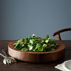 Big Walnut Salad Bowl. Basically I want ALLLLL the things from this site.