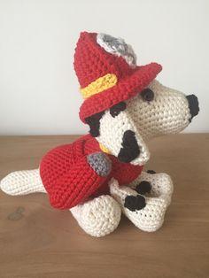 Marshall - paw patrol - crochet