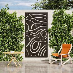 Enhance your outdoor space with our Noodle garden screen. Add style, improve privacy and hide anything unsightly. For gardens that wow choose our Noodle garden screening. Enjoy a touch of luxury in your outdoor space and gain the privacy you crave. The Noodle decorative screen will make a beautiful addition to your garden. Add a unique touch to your outdoor space and enjoy extra privacy. Metal Garden Screens, Garden Privacy Screen, Garden Screening, My Builder, Decorative Screens, Ral Colours, Beautiful Gardens, Screen Design, Bespoke Design