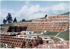 Versant Sud 1969 - 1974, Les Arcs 1800 (Gaston Regairaz, Charlotte Perriand, architectes)