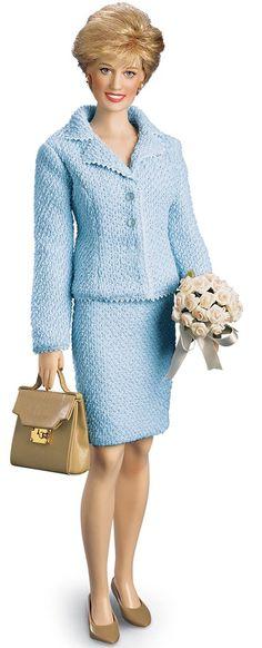 Franklin Mint Princess Diana doll