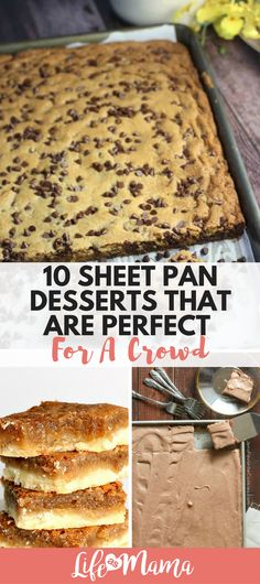 some sweets to feed several guests? These sheet pan desserts will get the j Need some sweets to feed several guests? These sheet pan desserts will get the j. -Need some sweets to feed several guests? These sheet pan desserts will get the j. Cooking For A Crowd, Desserts For A Crowd, Cooking On A Budget, Köstliche Desserts, Food For A Crowd, Recipes For A Crowd, Budget Recipes, Desserts For Potluck, Family Reunion Desserts