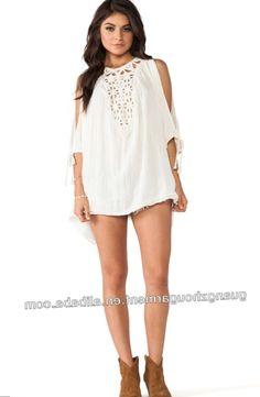 fc6ac8649e7d Plus size white mini dress - https   letsplus.eu mini-
