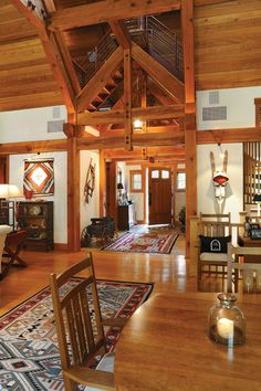 Entry doors open to a house of wonders Heart Pine Flooring, Pine Floors, Customer Stories, Wide Plank Flooring, Carlisle, Timeless Beauty, Entry Doors, Live Life, Ranch