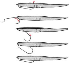 how to rig plastic lures - Google Search