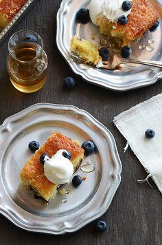 Golden Vanilla-Fig Cake via @Faith Gorsky Safarini