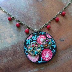 Voici ce que je viens d'ajouter dans ma boutique Etsy : Collier Fleurys Sucrée de la collection La Pie M http://etsy.me/2BW2ABI