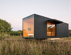 Compact Houses Made from Shipping Containers