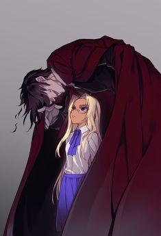 Little Integra and Alucard