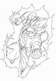 Free Coloring Pages Dragon Ball Z Goku Super Saiyan Coloring Pages Dragon Ball Z Goku Super Saiyan Dragon Ball
