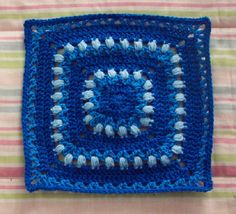 Ravelry: LizzieHelen's BOM CAL April 2010 12 inch filler square
