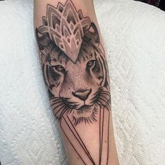 Fresh WTFDotworkTattoo Find Fresh from the Web #dotwork tiger with some #mandala and #geometrictattoo action by @mikkibedol #tattoo #blackworktattoo #organicinktattoo organicinktattoo WTFDotWorkTattoo