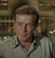 Richard Basehart as Admiral Harriman Nelson on Voyage to the Bottom of the Sea, '64-'68.