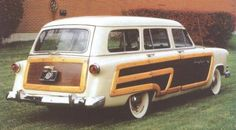 1953 Ford Country Squire.