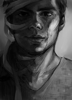 Every time I close my eyes, it's like a dark paradise - Stiles Stilinski - Teen Wolf