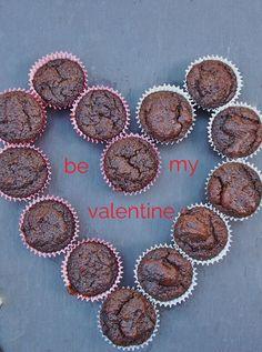 flourless chocolate cupcakes (with quinoa)