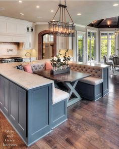 """54.1k Likes, 485 Comments - Interior Design & Home Decor (@inspire_me_home_decor) on Instagram: """"I posted this home yesterday and got some requests for a closer look of the seating space in the…"""""""