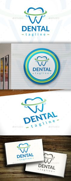 Fresh Dental Logo Template Vector EPS, AI. Download here: http://graphicriver.net/item/fresh-dental-logo/11366289?ref=ksioks