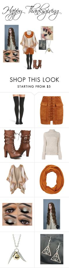 """""""Happy Thanksgiving"""" by fallenangel889 on Polyvore featuring Peony & Moss, WithChic, Joseph, MANGO, Charlotte Russe and Quiksilver"""