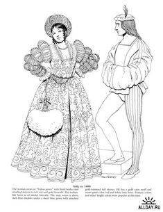 Fashions Of The First Ladies Dover Fashion Coloring Book Ming Ju