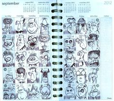 Bob Canada's BlogWorld: September Doodles
