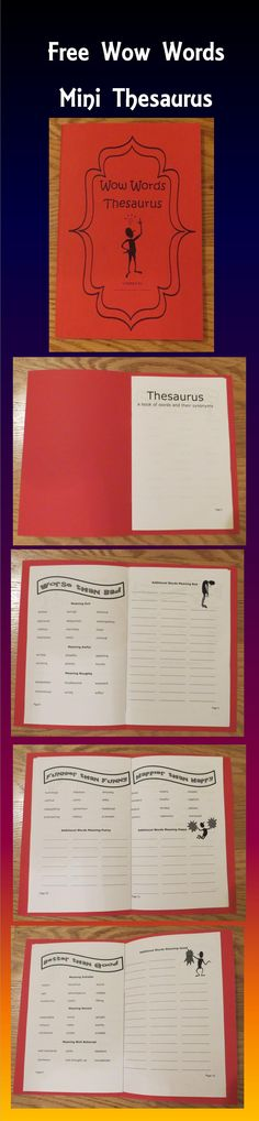 "This 16 page mini booklet includes word lists such as ""Funnier than Funny"" and ""Happier than Happy."" Each topic includes word suggestions with additional space for students to add their own words."
