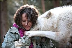 Helene Grimaud with Wolf Read Sign, Call Of The Wild, Beach Stuff, Werewolves, Animal Pictures, Female, Cats, Pets, Places