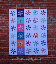 Quilt Festival ~ Starburst de Blogger | Orchid Búho Quilts