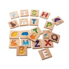 Alphabet A-Z Tiles by Plan Toys