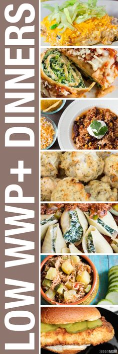 Looking for dinner ideas? We've got them! Click to get 17 dinners all under 7 WWP+.
