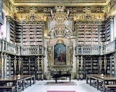 Biblioteca Geral University of Coimbra, Coimbra, Portugal