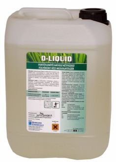 D-Liquid Fertőtlenítő hatású folyékony mosogatószer 5 kg