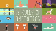 This was my first project I completed in the SVA MFA computer art motion graphics class. The story is about the 12 rules of animation that you need to know to be…