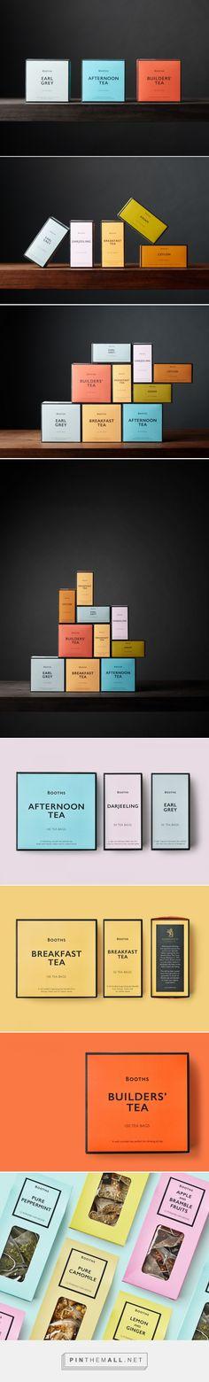 Booths Tea Range - Packaging of the World - Creative Package Design Gallery - http://www.packagingoftheworld.com/2017/05/booths-tea-range.html