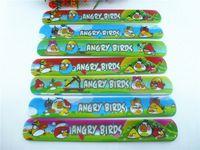100PCS   2015 New MIXED COLOR favour birds Magic Ruler Slap Band Bracelets  R150720-1