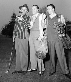 Bing Crosby, Bob Hope,  and Frank Sinatra. Phuket Golf Leisure Co., Ltd. Your Golf in Phuket Specialists.