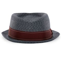 8ae391497a28c Guillermo Goorin Everyday Fedora Straw Pork Pie Hat
