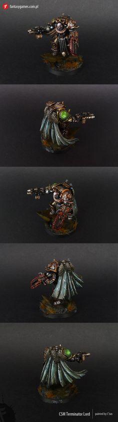 Chaos Space Marine Terminator Lord