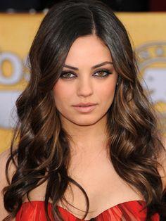 Mila Kunis Ombre Hair