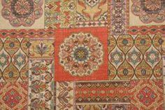Designer Fabric :: All Designers :: Richloom / John Wolf Zerego Outdoor Fabric in Henna $8.95 per yard -
