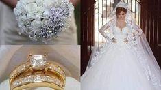 Novias de alta costura One Shoulder Wedding Dress, Wedding Dresses, Youtube, Lace, Alvaro Torres, Ideas Para, Google, Fashion, Engagement